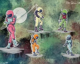 Spaceman Shuffle - Series #1