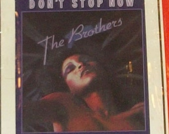 The Brothers Don't Stop Now Sealed Disco Funk 8-Track Tape