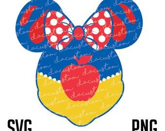 Snow White Minnie Mouse