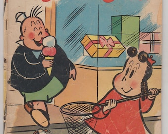 Marge's Little Lulu; Vol 1, 34 Golden Age Comic Book.  VG- (3.5). April 1951.  Dell Comics