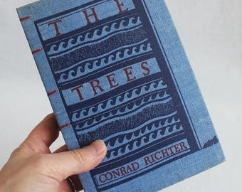 Vintage Book Journal / Recycled Old Book Journal / The Trees Rebound Journal / by PrairiePeasant