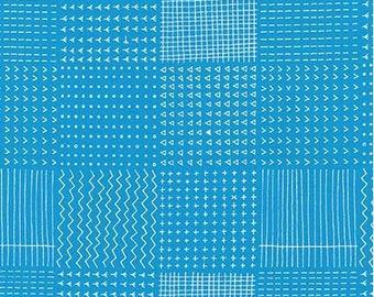 Robert Kaufman - Blueberry Park- Water/Cotton/Fabric/Sewing/Quilting