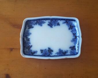 Mercer Semi Viterous Vintage Porcelain Platter