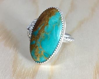 Turquoise delish ring size 8