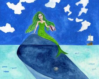 The Mermaid & the Whale