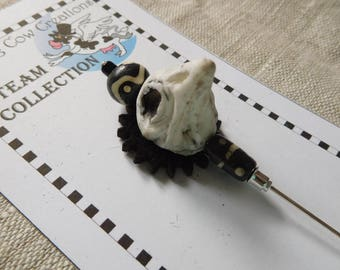 Crow Hat Pin