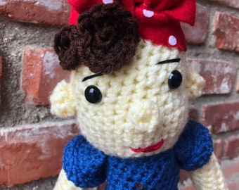 Rosie the Riveter doll