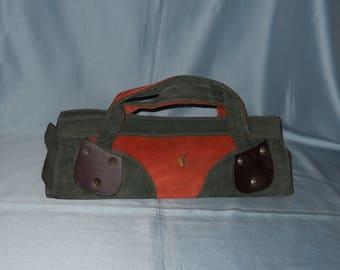 Authentic vintage bag! Genuine leather!