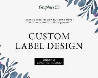 Product label design service cosmetics label serum label design packaging custom label custom sticker candle jar label design ingredient