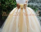 Vintage Dress Gold Dress ...