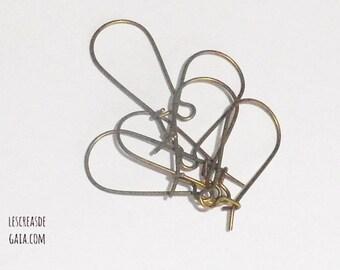 1 x set of hooks for earrings, metal choice