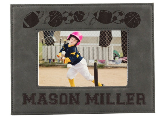 Sports Picture Frames for Kids Personalized Sports Frames