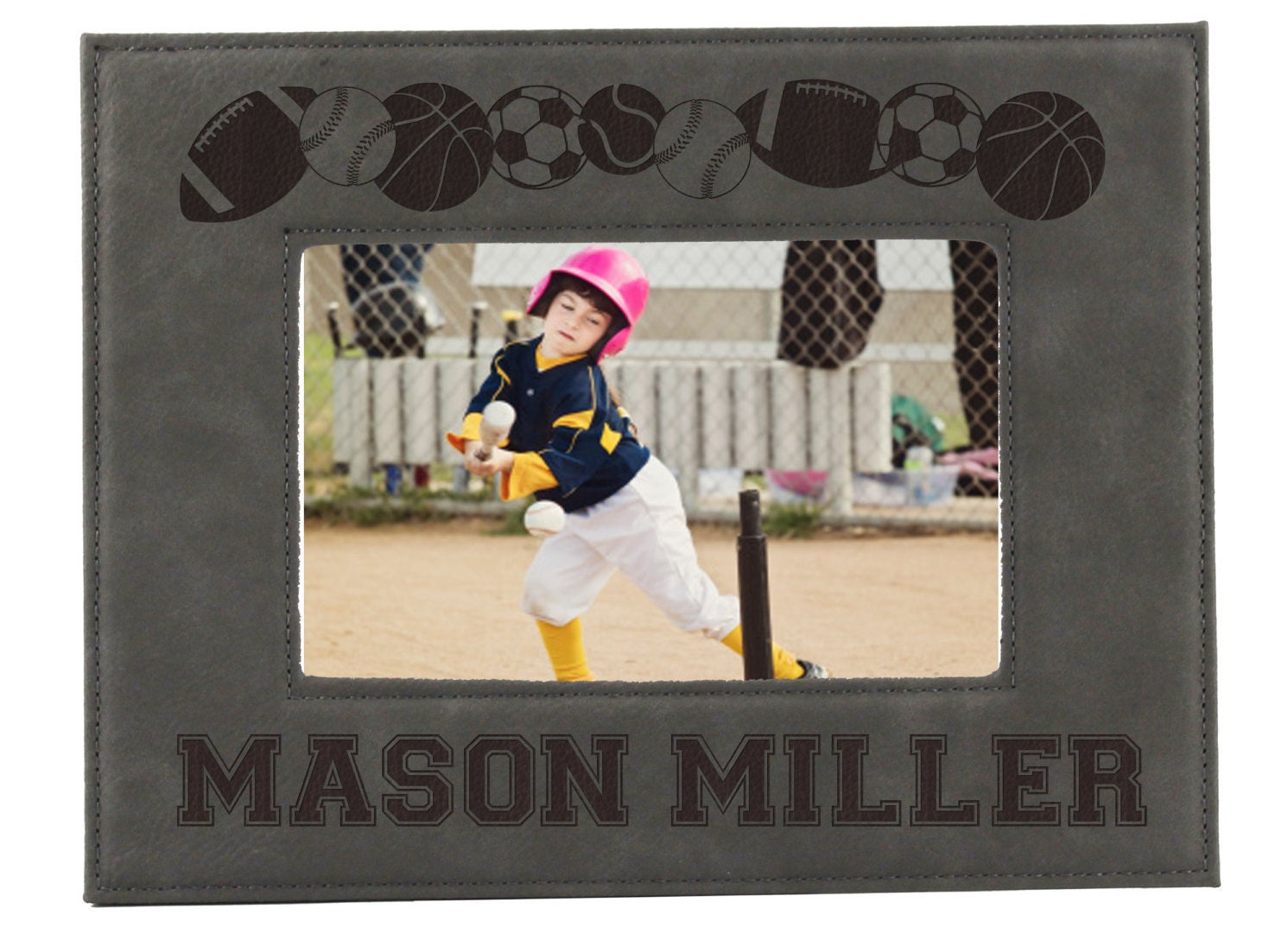 Sports picture frames for kids personalized sports frames zoom jeuxipadfo Images