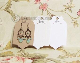 50•FANCY•2x3.5 inch•EARRING CARDS•Jewelry cards•Earring Display•Earring Card•Earring Holder