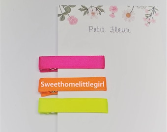 hairclip,non-slip hairclip,hairclip,non slip hairclip,Alligator clip,neon pink,neon orange,neon yellow