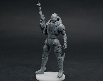 Garrus Mass Effect collection figure resin kit - Gift for GAMER