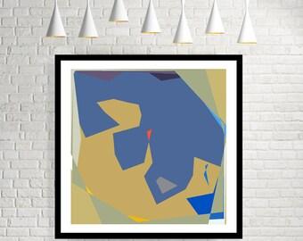 Modern Art, Contemporary Art, Geometric Art, Abstract Art , Abstract Wall Art, Geometric Print, Abstract Print, Modern Art Print, Wall Art