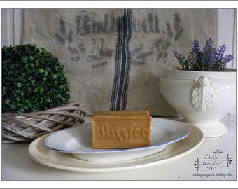 """SHABBY antique core soap """"Putzfee"""""""