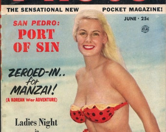 Photo Magazine June 1952 Digest size PIN-UP GIRLS Mature
