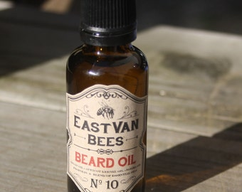 Beard Oil #10 (Vetiver, Frankincense and Lavender)