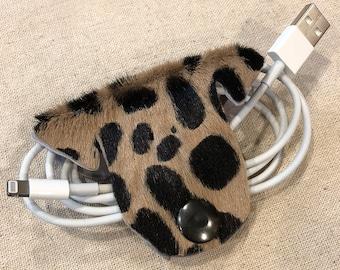 Leopard Doodle CordKeeper