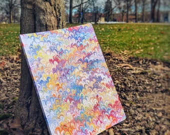 Bouquet ~Marbled Journal~