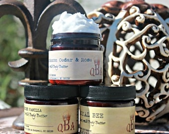 CHOOSE • YOUR • SCENT || Goats Milk Body Butter • Gentle Old Fashioned • 2 Ounce {Scents A-F}