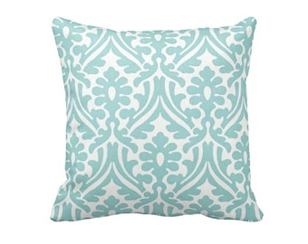 Blue Pillow Cover Blue Throw Pillow Cover Decorative Pillows for Couch Pillows Blue Damask Pillows Shabby Chic Pillows 20x20 Pillows