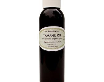 Tamanu Oil 100% Pure & Organic Cold Pressed 4 oz