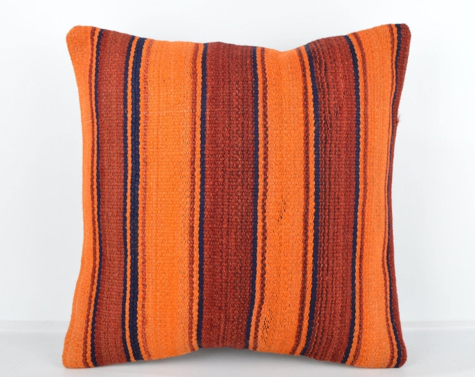 Kilim pillow, Kilim Pillow Cover, Turkish Pillow, Kilim Cushions, Moroccan Pillow,  Bohemian Pillow, Turkish Kilim, KP32 (tp401)