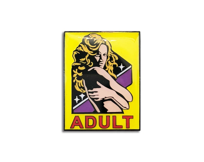 Adult Sign Pin