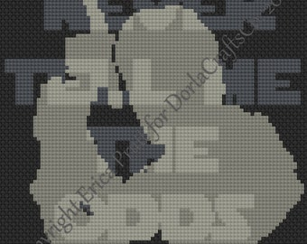 Never Tell Me The Odds Cross Stitch Chart PDF Download