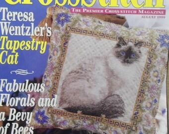 Just Cross Stitch Magazine August 1999