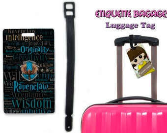 harry potter ravenclaw -  #1-047 - luggage tag name