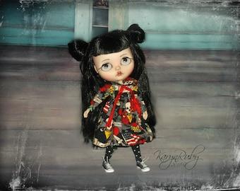 Blythe ~  Vintage 50's inspired dress ~ By KarynRuby
