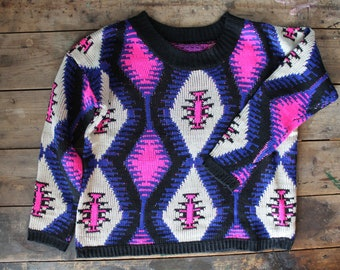 Rare Vintage early 90's Dead Stock Sweater | Small Medium