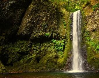 Columbia River Gorge Waterfall