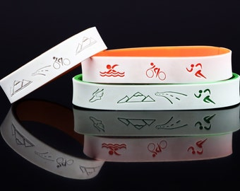 Athletic Bracelet with Emergency Contact Information