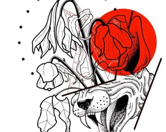 Dead Flowers print