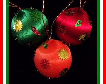 Cinco de Mayo Ornament - Fiesta Caliente (Set of 3)