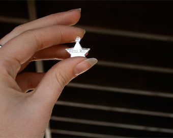 Custom Engraved Star Jewelry Tag Lot of Twenty Five (25) Mirror 20mm wide and 22mm tall
