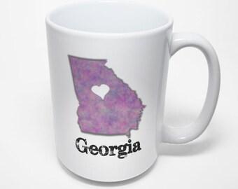 Georgia Mug, Love Georgia
