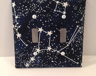 Starry Night Sky Glow in the Dark Light Switch Cover Plate