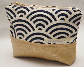 Make up bag, makeup bag, cosmetic bag, cosmetic pouch