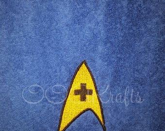 Star Trek Medical Hand Towel