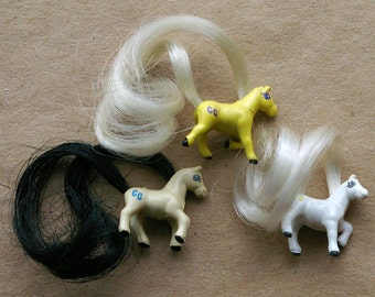Cutie Club Horses - Lot of 3 Three