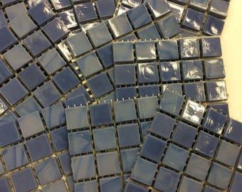 "1/2"" Purple Fluorite GlassTile-25 pc// discount mosaic tile"