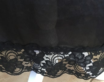 M / Wonder Maid / Half Slip / Black / Medium