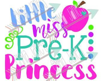 Little Miss Pre-K Princess