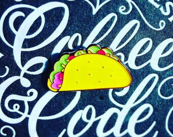 Soft Enamel Taco Pin
